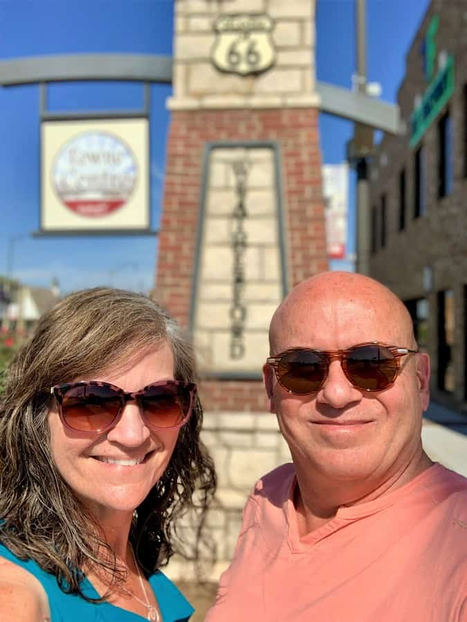 We paused in Street during our 24 hours in Weatherford, Oklahoma.