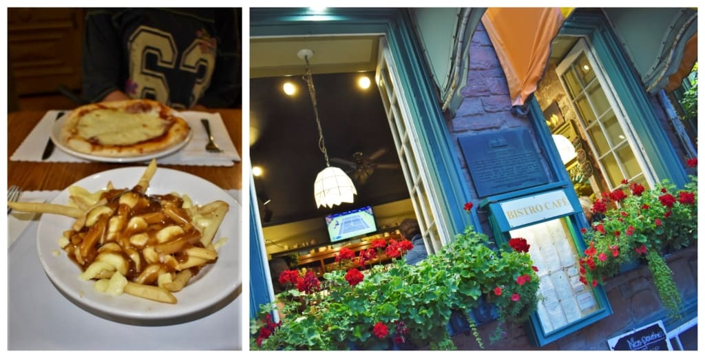 Our first taste of poutine was a delicious journey of flavors, which are native to Quebec.