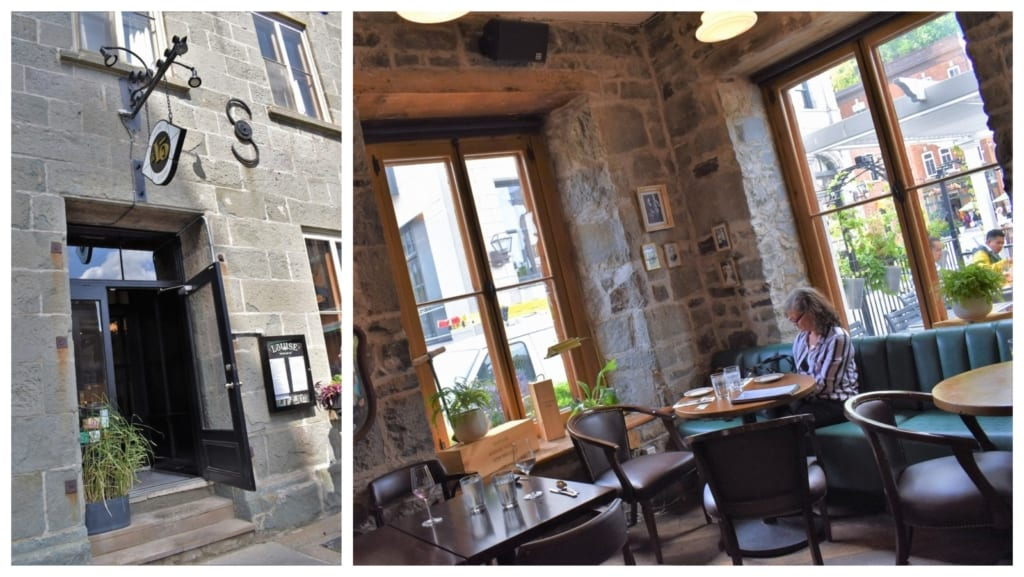 Taverne Louis offers some of the most delectable fish and chips that we have ever enjoyed.