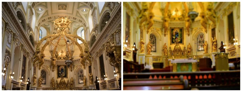 The Notre Dame Cathedral was one of the most highly decorated spaces we have ever visited.
