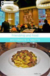 Ristorante Il Matto-Friendship and Food-Quebec City-Italian cuisine-Old Quebec City