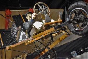 Visitors to the Stafford Air & Space Museum will find themselves taking a walk through the history of air travel.