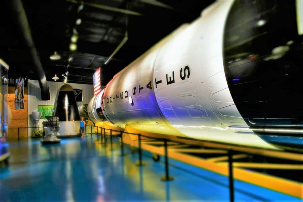 A Titan rocket is one of six reasons to visit the Stafford Air & Space Museum.