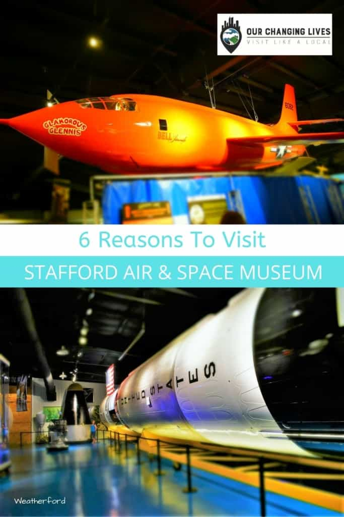 Stafford Air & Space Museum-astronaut-rockets-airplanes-space race-space travel-Apollo-Weatherford Oklahoma-attraction