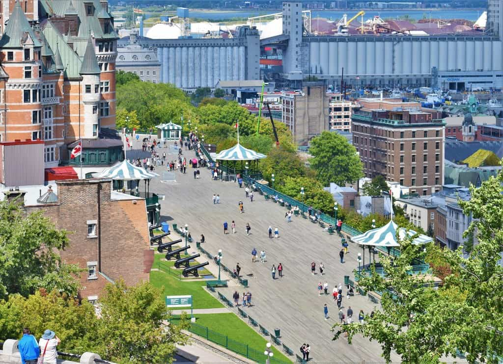 Life below the boardwalk in Quebec City includes visits to Rue du Petit Champlain.