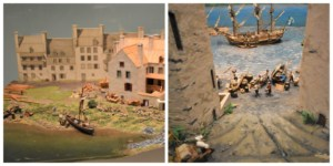 The exhibits at the Museum of Civilization are capturing history through the use of dioramas.