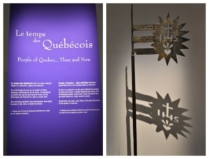 Artifacts from Quebec City's history are one way that they are capturing history at the Museum of Civilization.