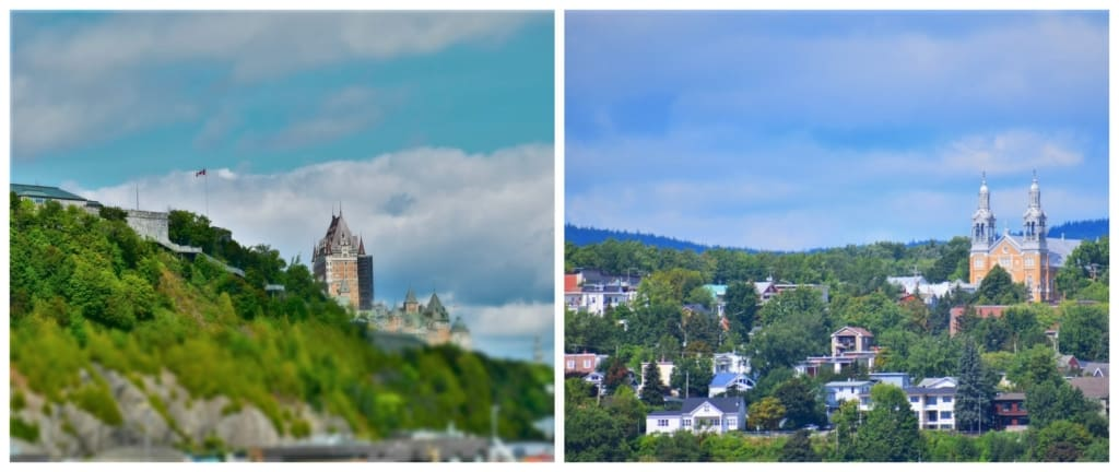Seeing Quebec City from on board the AML Cruise reminded us of how beautiful the landscape is in Eastern Canada.