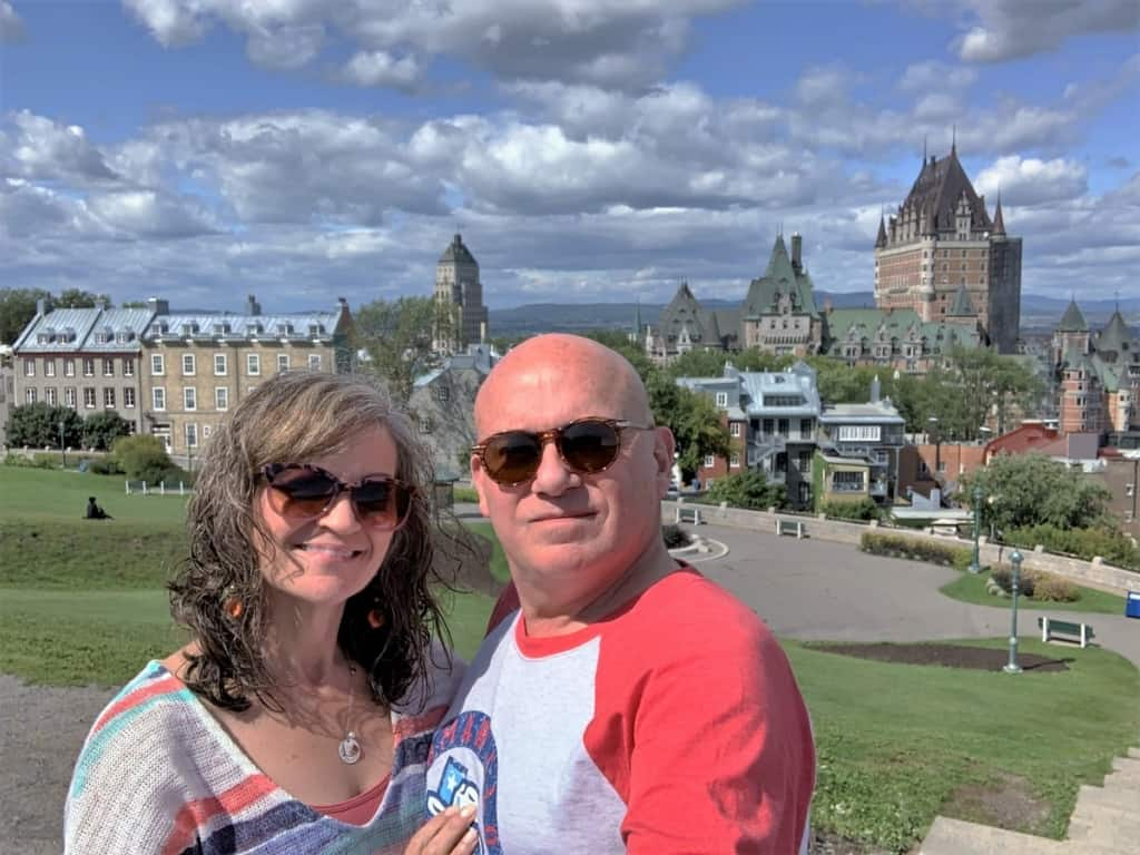 The authors stop to reflect on their experiences from exploring Upper Town in Quebec City.