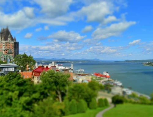 Upper Town In Quebec City – The View From Above