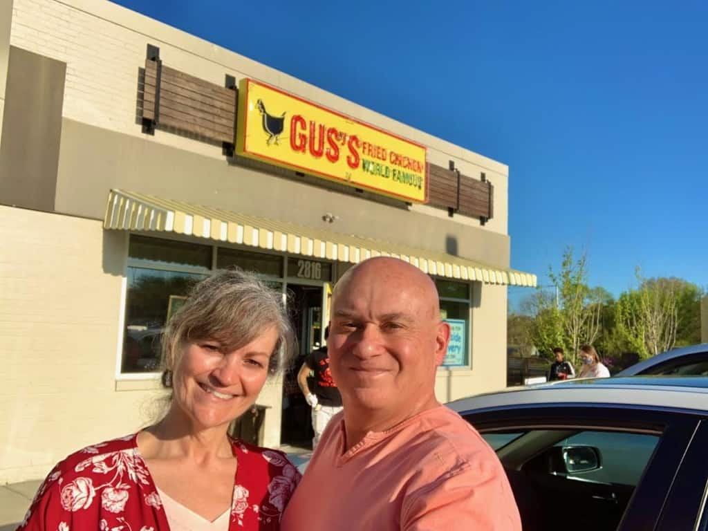 The authors had forgotten about Gus's Fried Chicken when looking for some new dining options in Kansas City, Kansas.
