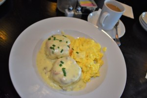 The biscuits and gravy are receiving special attention as they are dressing up brunch at Summit Grill.
