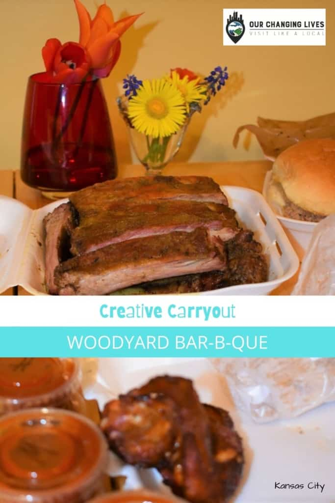 Creative Carryout-Woodyard Bar b Que-Kansas City restaurants-barbecue-dining- Covid 19-stay at home order-bbq ribs-Carolina style bbq-Texas dry rub