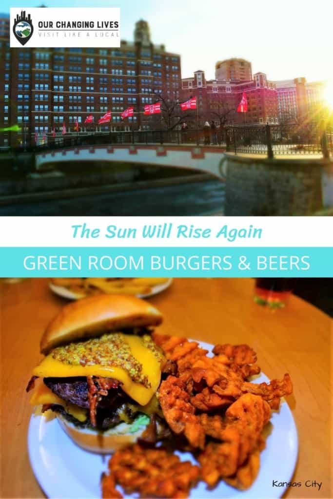 Green Room Burgers & Beers-The un Will Shine Again-Kansas city-burgers-dining-restaurants-social distancing-Covid 19