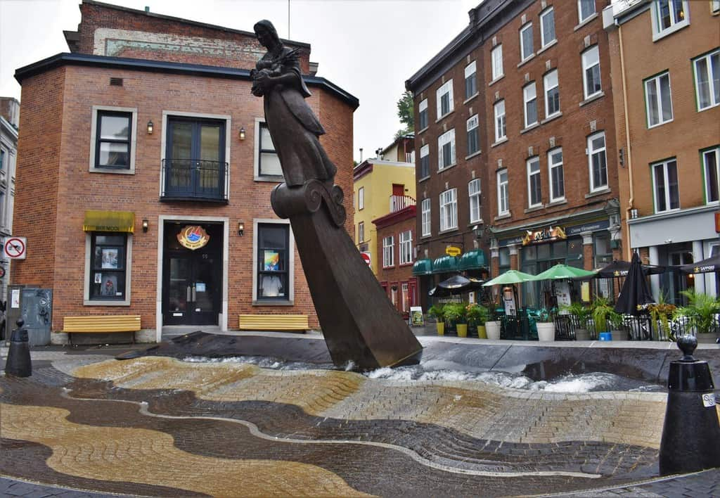 You will find lots of artwork while exploring Lower Town