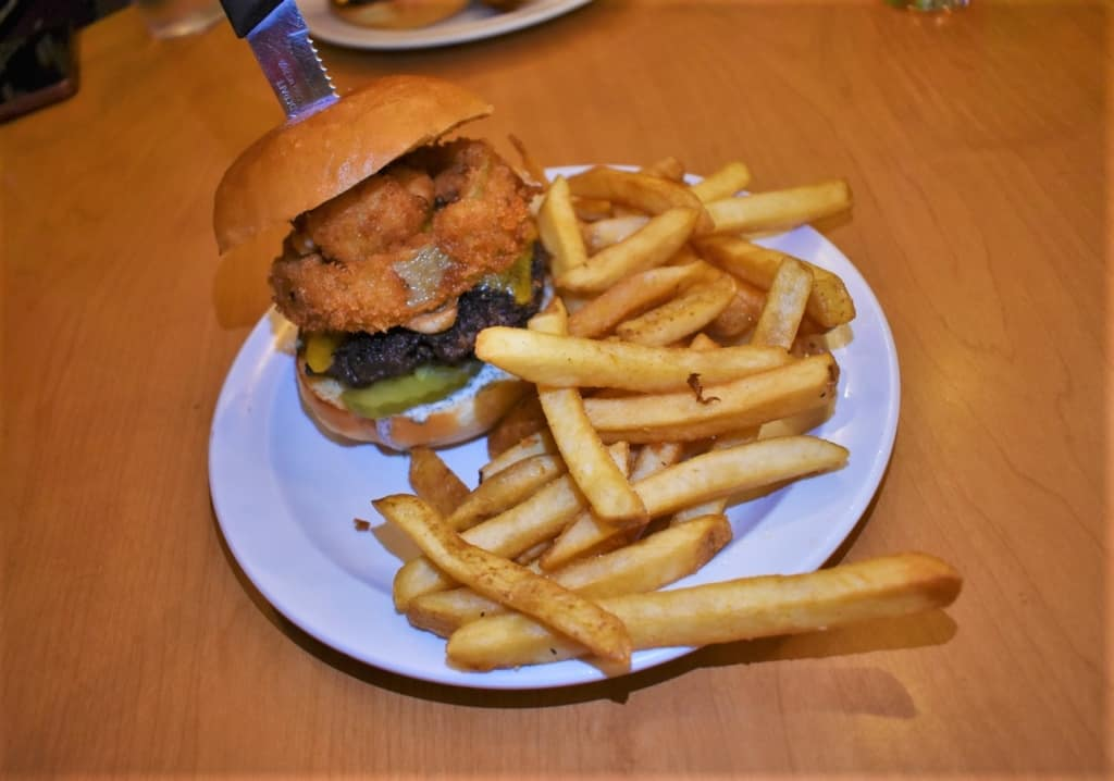 A Saturn Burger is a combination of flavors designed to make every bite a pleasing sensation.