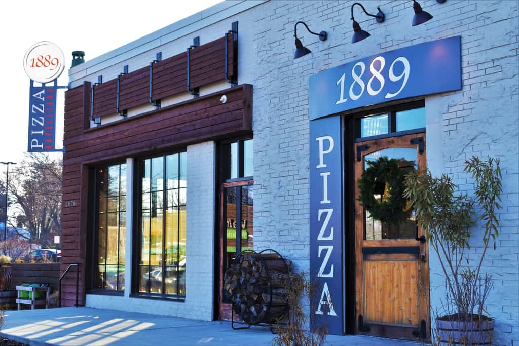1889 Pizza Napoletana is a pizzeria in Kansas city, Kansas.