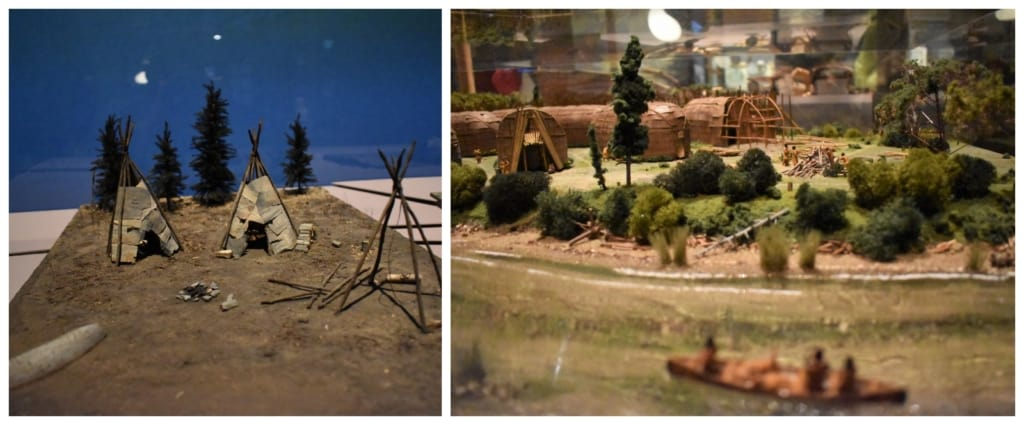 Dioramas are one way the they are capturing history at the Museum of Civilization.