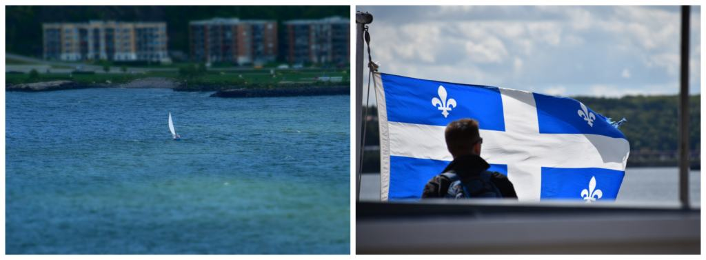Spending time seeing Quebec City form a river cruise offers a new perspective.