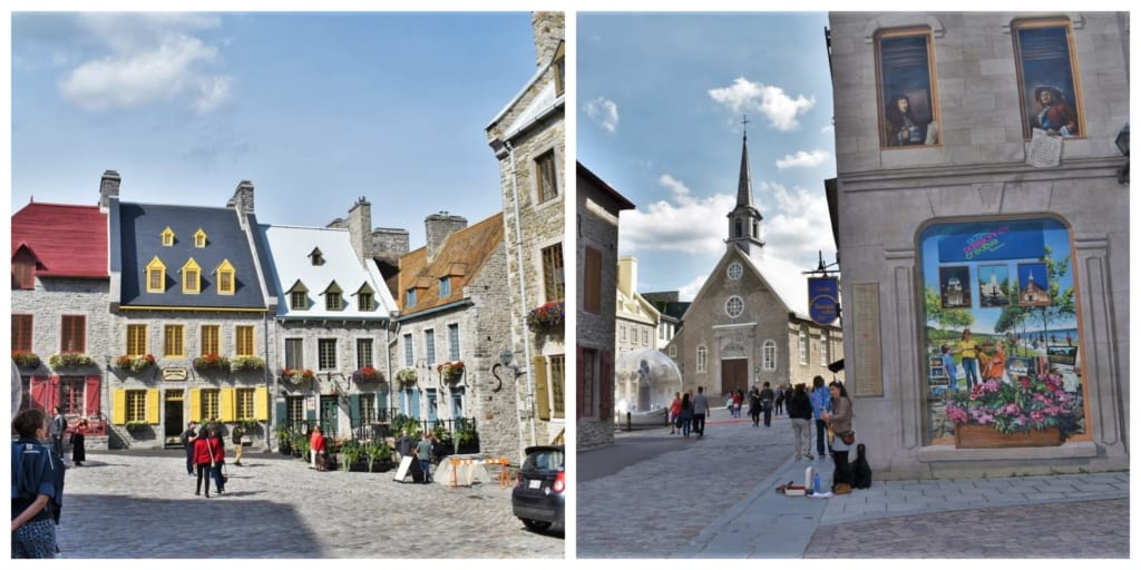 Place Royal is a quaint cobblestone square that sits at the heart of the old city.