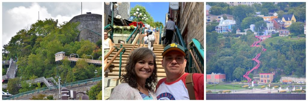 Topping our list of 15 things to know before you explore Lower Town is being prepared for the stairs that are found everywhere.