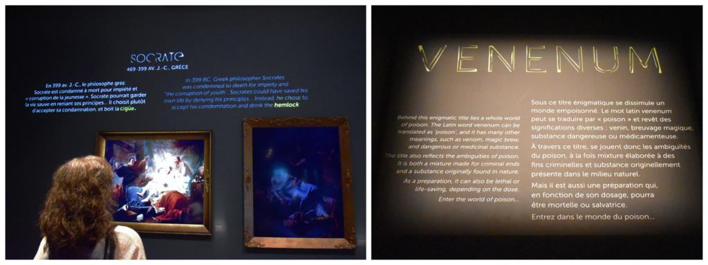 The Museum of Civilaztion, in Quebec City, is capturing hitory through the use of temporary exhibits like this one on poisons and venom.