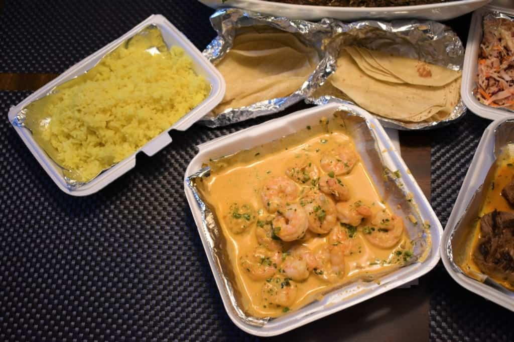 The Creamy Chipotle Jumbo Shrimp is just of the dishes that show Jarocho is bringing the sea to KC.