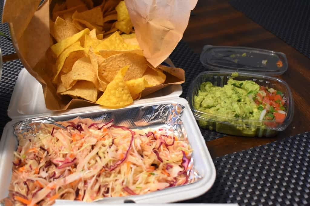 Mexican Coleslaw and fresh Guacamole are two unique tastes that make good accompaniments for the dishes at Jarocho.
