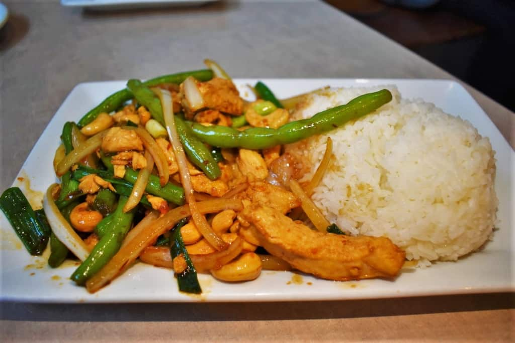 Thai Cashew chicken is a flavor filled dish that brings plenty of taste to the table.