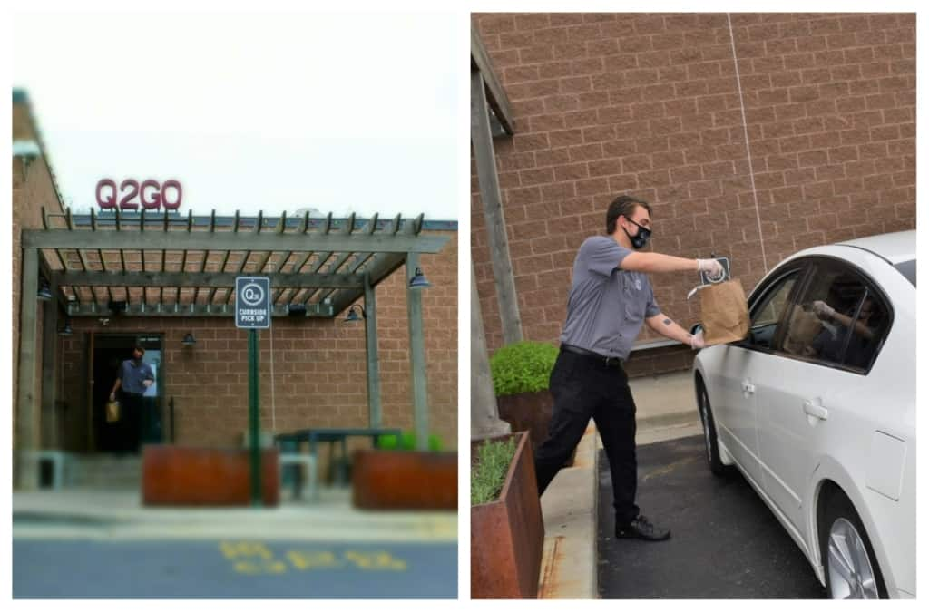 Curbside delivery makes ordering dinner at Q39 as easy as can be.