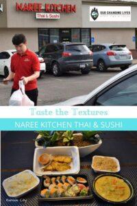 Taste the Textures-Naree Kitchen-sushi-curry-Thai cuisine-Kansas City Kansas restaurant