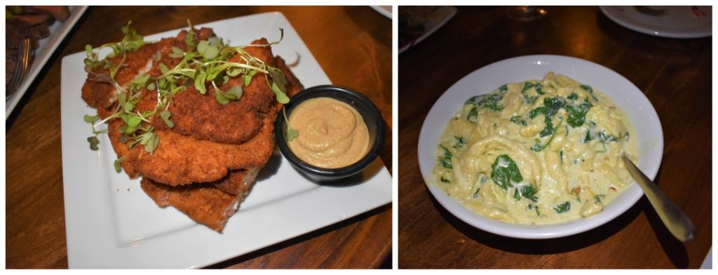 Prok Weinerschnitzel is the perfect main course to be served with a bowl of creamy spaetzle.