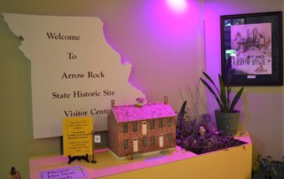 We were excited to explore the Arrow Rock Visitors Center.