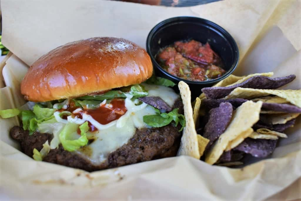 The burgers at Catalpa Restaurant are a hearty option designed to satisfy a mountain of an appetite.