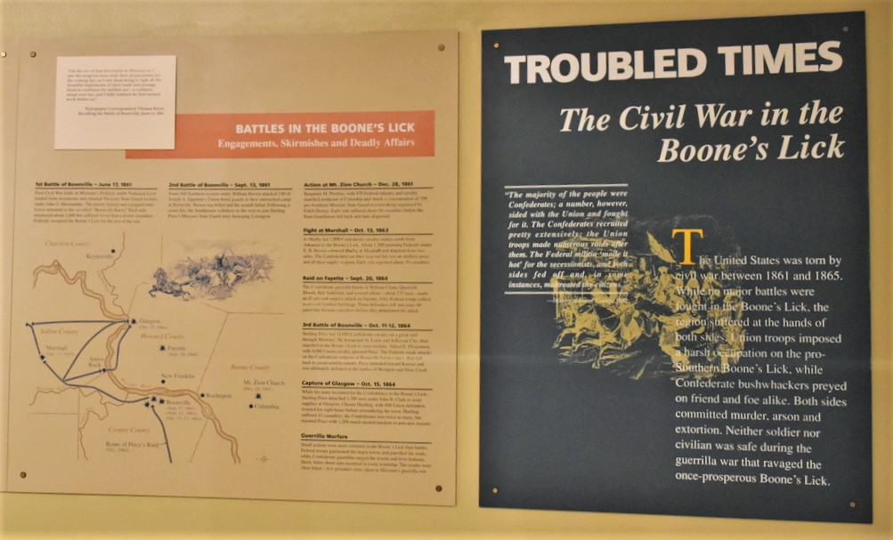 The Civil War was sparked by actions between abolitionist and slavery factions in the Missouri-Kansas regions.
