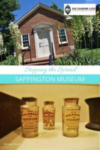 Stopping the Spread-Sappington Museum-Arrow Rock, missouri-Missouri tourism-malaria-quinine-pioneer doctor-coronavirus