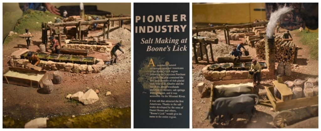 Life in the Boone's Lick was all about the salt production during the beginning of the 1800s.