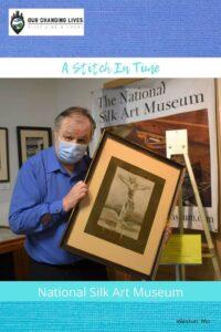 A Stitch in Time-National Silk Art Museum-Weston, Missouri-weaving-keypunch card-art-artists