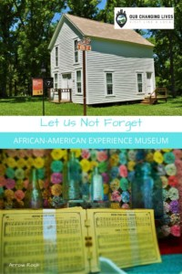 Let Us not Forget-African American Experience Museum-Arrow Rock, Missouri-Civil War-slavery-freedom