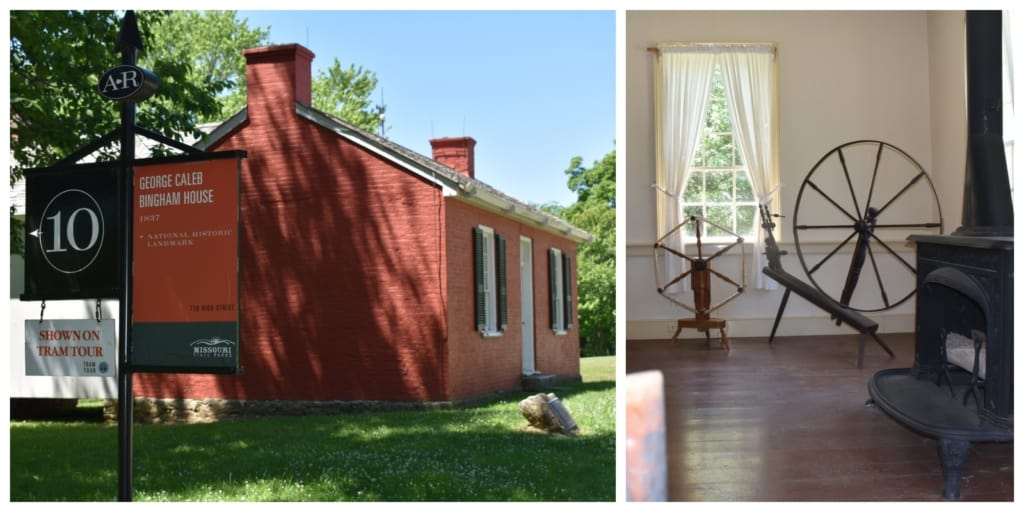 The home of George Caleb Bingham offers a history lesson about the early days of Arrow rock.