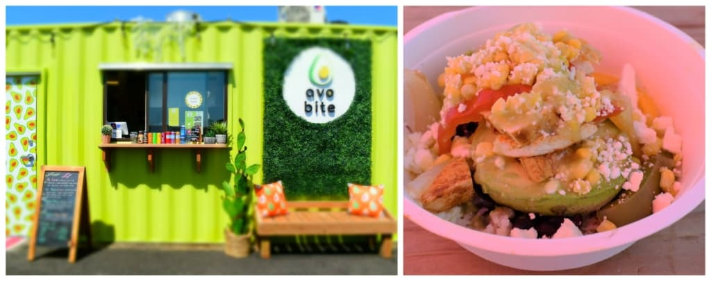 AvoBite is an eatery that offers avocado based dishes in the Iron District.