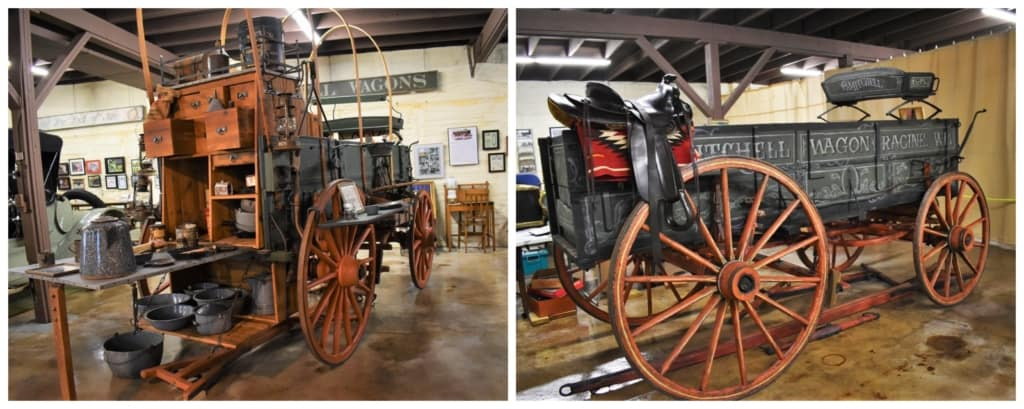 The Mitchell Car Museum has a couple of examples of the wagons that put the Mitchell family on the map.