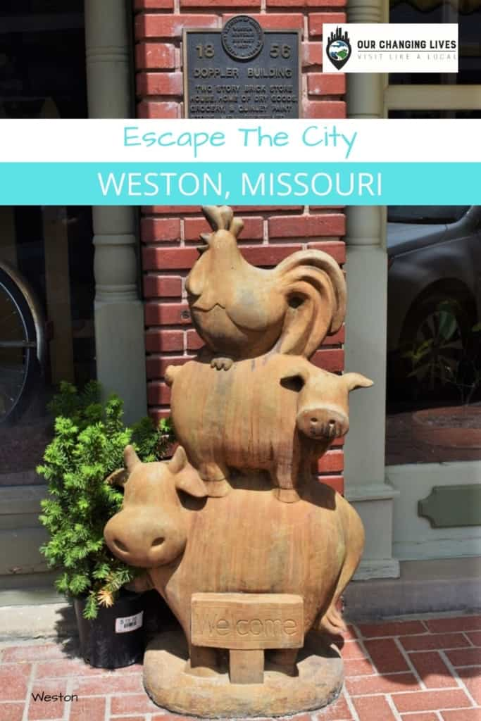 Escape the City-Weston, Missouri-shopping-history-hiking-dining