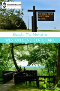 Back to Nature-Weston Bend State Park-hiking-trails-tobacco farming-Lewis and Clark
