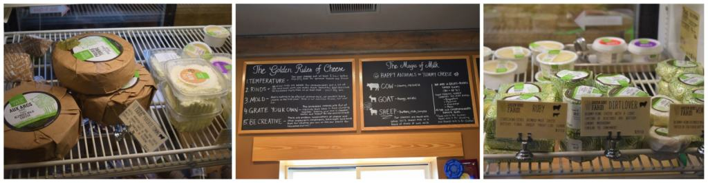 You can find an assortment of cheeses at Green Dirt Farm.