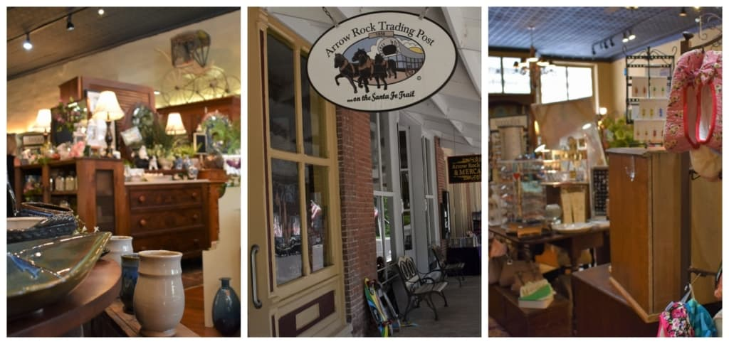 The Arrow Rock Trading Post is filled with a wide assortment of gift ideas.