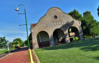 Day-tripping in Boonville is a great way to learn about how transportation has evolved.