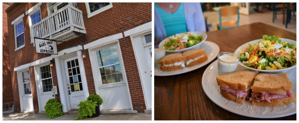 A healthy lunch at Taylor's Bake Shop helped fuel our day-tripping in Boonville.