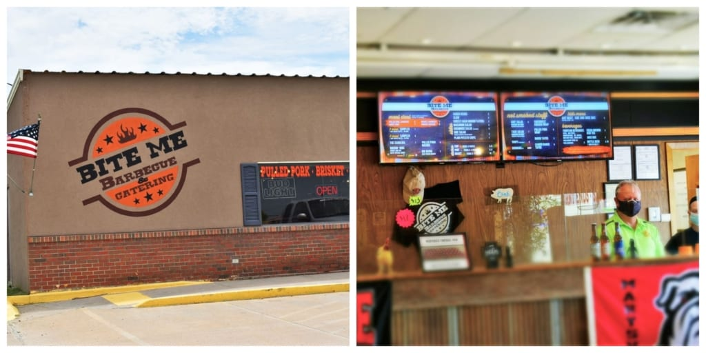 We were anxious to explore Marysville dining options, when we rolled into Bite Me Barbecue.