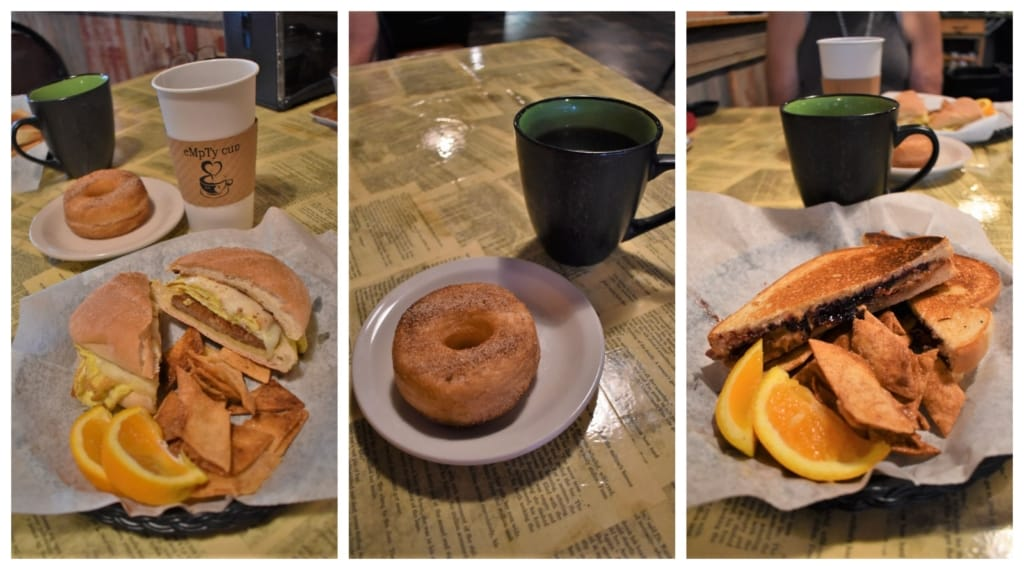 A good breakfast provides fuel for exploring in Marysville.
